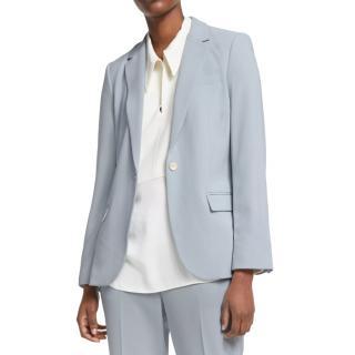 Theory Mist Blue Tailored Staple Blazer