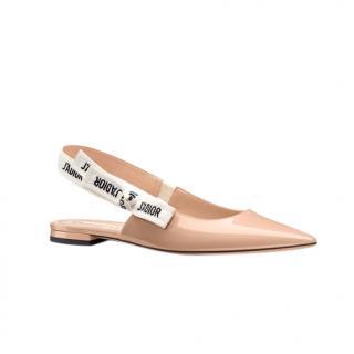 Dior J'Adior Slingback Ballerina Flat