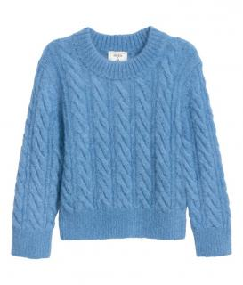 Erdem x H&M Blue Mohair Blend Jumper