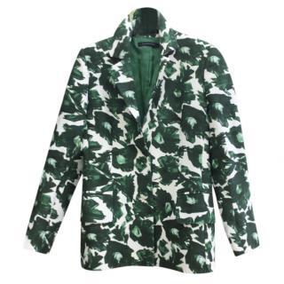 Mother of Pearl Green & White Blazer