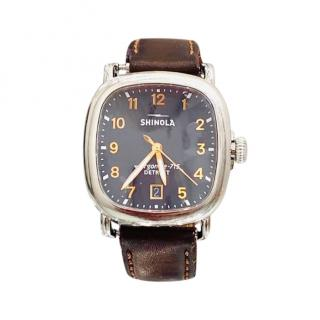 Shinola Mens 41mm Guardian Date Watch