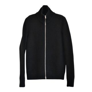 Maison Margiela Runway Wool Zip Cardigan