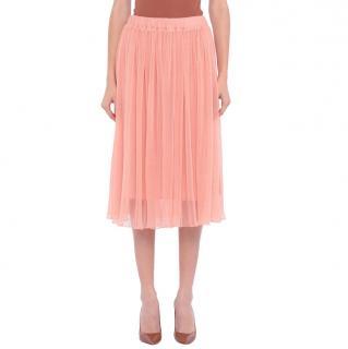 Baum Und Pferdgarten Pink Pleated Tulle Skirt