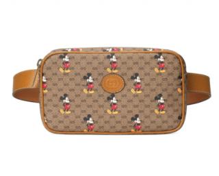Gucci x Disney Mickey Mouse-print belt bag - Belt size 120