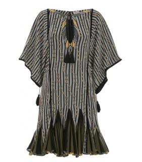 Talitha Kente Print Alai Dress