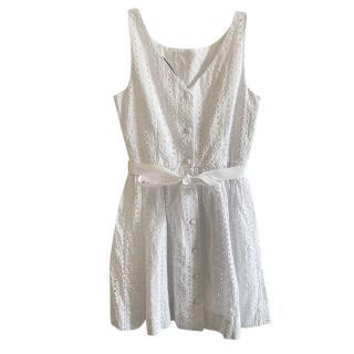 Polo Ralph Lauren White Broderie Anglaise Dress