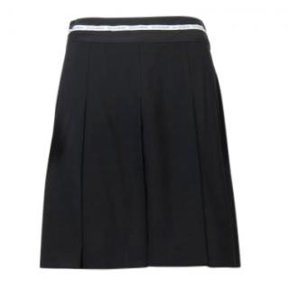 Dolce & Gabbana Black Pleated Skirt