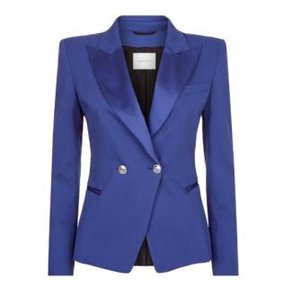 Pierre Balmain Blue Tuxedo Jacket