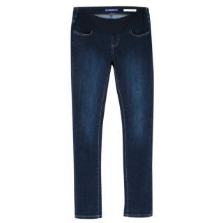 Seraphine Organic Cotton Under Bump Maternity Skinny Jeans