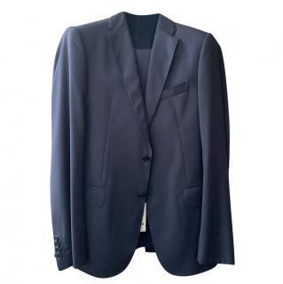 Armani Collezioni M Line Navy Suit