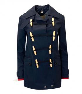 Burberry Brit Blue Duffle Coat