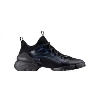 DIOR Black D-Connect Sneaker