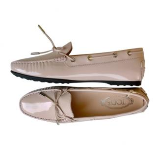 Tod's Pale Pink Gommino Loafers