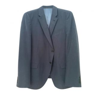 Armani Collezioni Navy Single Breasted Blazer