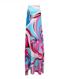 Emilio Pucci Multicoloured Printed Maxi Dress