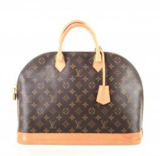 Louis Vuitton Monogram Alma MM Top Handle Bag