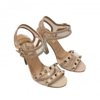 Valentino Garavani Plexi Rockstud Sandals