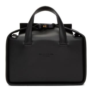 1017 ALYX 9SM Black Leather Brie Bag