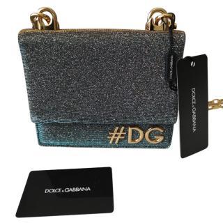 Dolce & Gabbana DG Girls Glitter Shoulder Bag