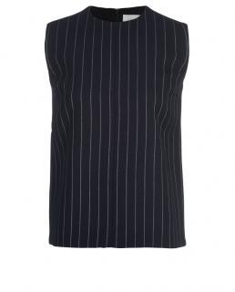 Victoria Victoria Beckham Striped Sleeveless Vest
