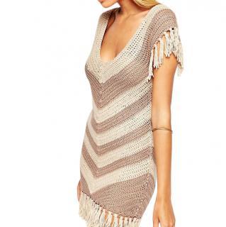 Melissa Odabash Riri Crochet Beach Dress