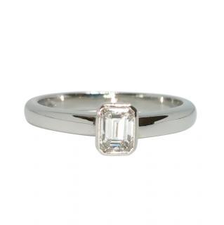 Bespoke PHS Platinum Set Diamond Ring