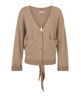 Max & Moi Cashmere Tie Back Cardigan