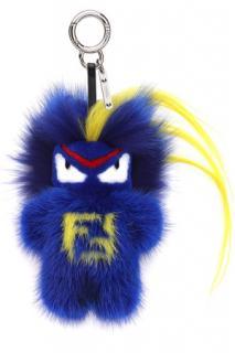 Fendi 'Fendirumi Bug-Kun' Mink Fur Bag Charm