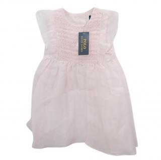 Polo Ralph Lauren Kids 4Y Pink Ruffle Dress