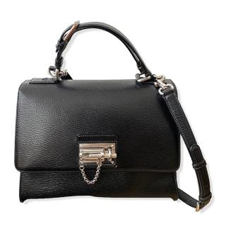 Dolce & Gabbana Black Leather Monica Tote Bag