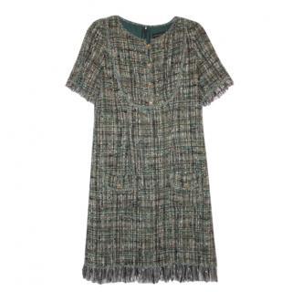 Purificacion Garcia Tweed A-Line Dress