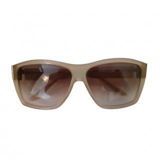 Gucci Classic Cream Sunglasses