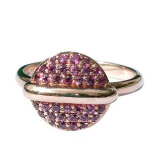 Fiorelli Garnet Button Ring