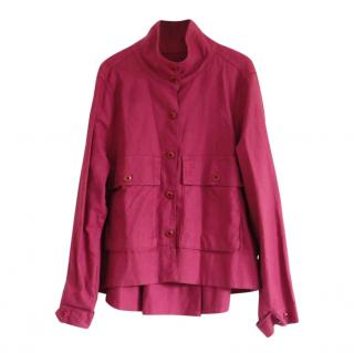 The Great Red Linen Blend Jacket