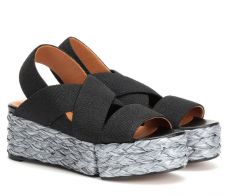 Robert Clergerie Woven Crossover Ancre Sandals