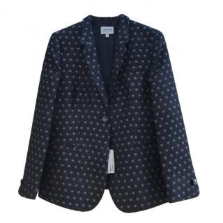 Armani Collezioni Father Print Tailored Jacket