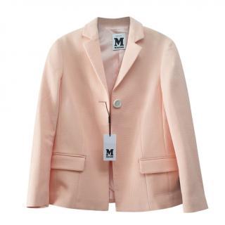 M Missoni Blush Tailored Jacket