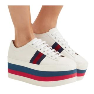 Gucci Ace Peggy Platform Sneakers