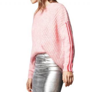 Zadig & Voltaire Pink Vicky Mohair Blend Jumper
