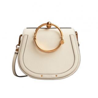 Chloe Off-White Medium Nile Bracelet Bag