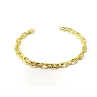 Salvatore Plata Gold Plated Chain Cuff