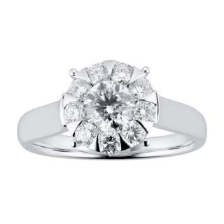 Mappin & Webb Diamond Solitaire Ring