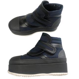 Marni Bi-Colour Platform Sneaker Boots