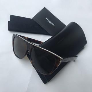 Saint Laurent Tortoiseshell Combi Sunglasses