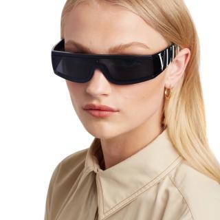 Valentino Black VLTN Sunglasses