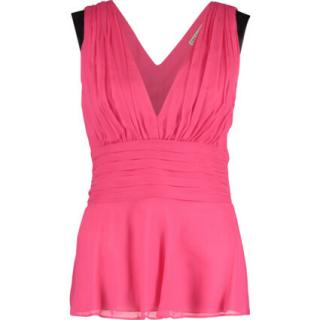 Emilio Pucci Pink Sleeveless Pleated Top