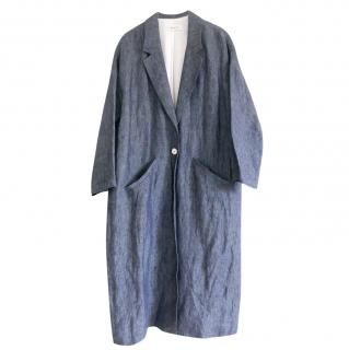 Masscob Denim Chambray Cocoon Coat