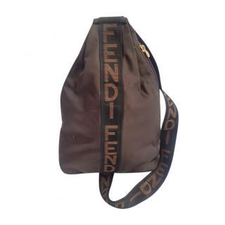 Fendi Bi-Colour Canvas Crossbody Bag