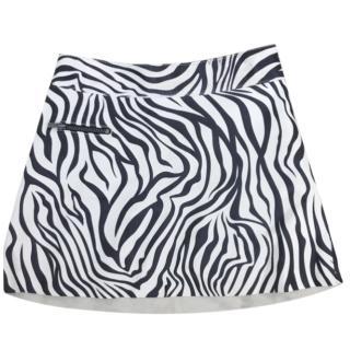 Bonpoint Zebra Print Mini Skirt