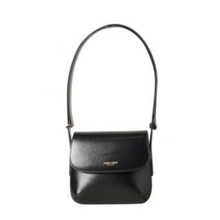Giorgio Armani Black Leather Shoulder Bag